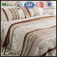 Dubai 60%cotton 40% polyester printed patchwork quilt cover set/bedding set/bed sheet set
