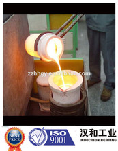Horno de fundición de oro e inducción de metales nobles