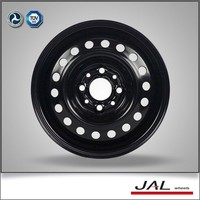 13 inch chrome black steel wheels for passenger cars