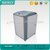 High COP 7KW DC Inverter Ground Source Water To Water Floor Heating Heat Pump Split type With Electrical Heater,CE Rohs EN14511