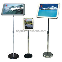 High quality floor free standing menu poster stand