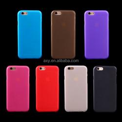 Matte TPU gel case for iPhone 4 5 6 6 plus