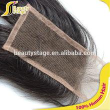Com preço barato real mink cabelo brasileiro feixes de cabelo virgem com fecho de rendas