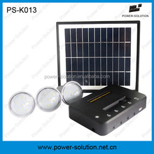4W 8W solar panel 3 pcs 1W solar bulbs portable solar home system