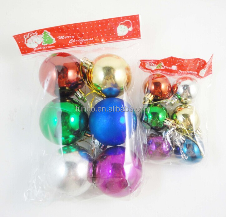 Wholesale clear christmas ball ornaments bulk in stock