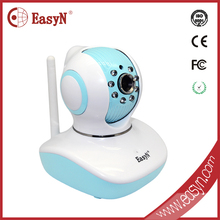 Indoor use wireless 720P web camera with sd card slot