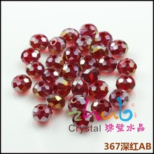 Manufacture Direct Sell Crystal AB Nice Faceted Chandelier Balls