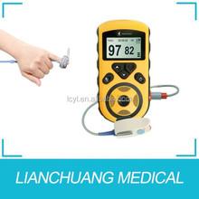 Handheld Finger Oximeter Pulse Monitoring