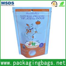 dongguan printed hot sale pet food packaging bag for dog food