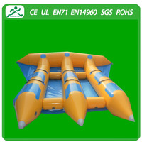 Hot selling inflatable flying fish/inflatable flying fish towable/floating water games(6 seats)