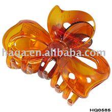 Tortoise plastic hair claw clip