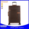 PU and nylon luggage for business and travel, 20'' 24'' 28'' trolley bag