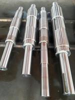 SAE1045 4140 etc. Big Size Forged Steel Shaft /Heat treatment / Q+T