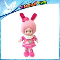 Wholesale- Lovely Fruit Dolls Super Cute Vegetables Doll Talk Sing Blink,educational toys,speaking, music doll
