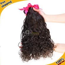 Aliluxy grade 7a water wave 100 virgin remy human supreme malaysian hair