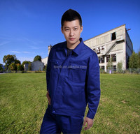 new design blue oem garment factory in China