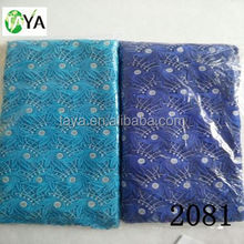 high quality african guipure lace 100% polyester material lace 2081