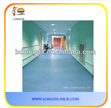anti-static PVC vinyl flooring hospital grade /0.35-3.0mm good quality normal & sponge backing floor