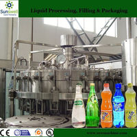 Soft Drink Bottling Equipment/Carbonated Beverage Filling line