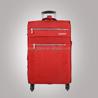 soft trolley luggage 3pcs trolley suitcase /new trolley suitcase/hot selling pilot luggage
