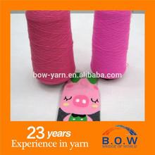 acrilico filato misto lana per tessitura e macchina per maglieria
