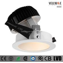 45W CITIZEN COB Anti-Glare project / high lumen popular hotel led downlight / adjustable / can instead ERCO downlight R3B0386