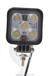 12v led work light 12v 15w led work light 10-30V DC Voltage and CE,RoHS Certification led light bar off road 15w