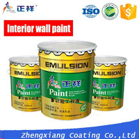 ZXPAINT water based super washing non-toxic interior wall emulsion paint