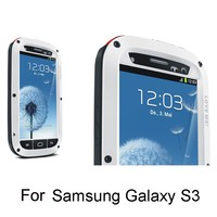 For Samsung galaxy S3 newest metal alloy cell phone case