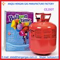 30lb 0.25m3 desechables tanques de helio