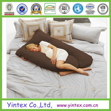 polyester cushion comfortable plain long body pillows for pregnant woman