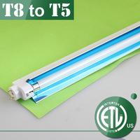 T5 lamp with nano reflector
