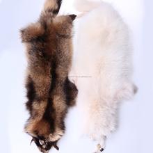 stuffed raccoons,genuine raccoon fur, garment use, fur trim for hood