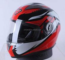 Popular DOT ECE NBR full face unique police motorcycle helmet