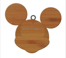 Bamboo & Wood Household Products BSCI Factory New Design Mouse Shape Cutting Boards Bamboo Chopping Board FSC Wood Cutting Board