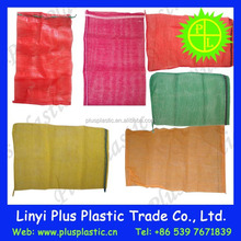 Polypropylene (pp) Durable Tubular Leno mesh bag for peanuts onion