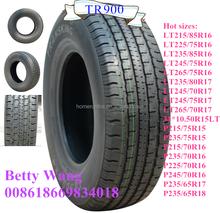 Shandong New Passenger Car tyres ,SUV HT Tires EU Certificates Hot sale TRANSKING Brand
