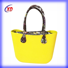 fashionable Alibaba China cheap tote women handbag,bags women EVA bag