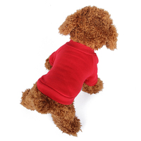 Available Blank Dog Pajamas Short-Sleeved T-Shirt Chihuahua Overal Pet Clothes For Dog Grooming Outfit Dog Vest
