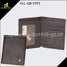 Hot Sale Durable Genuine Leather Men Wallet