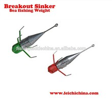 Wholesale Popular Fishing Sinkers Sea fishing Weight Fishing Lead Sinkers