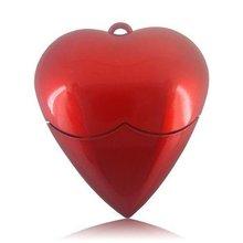 Big Red heart usb flash memory for Xmas gift