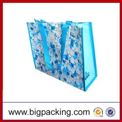 2015 Europe Standard Laminated China PP Woven Bag Shopping Industrial Use and Accept Custom Order Colorful printing pp woven bag