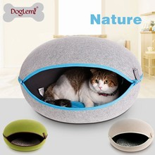 DogLemi Warm Soft Cat House Fashion Pet Bed Cat House