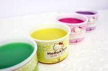 Alibaba china free samples high quality 100g Air fragrance branding/Aromatic car air freshener gel
