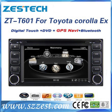 ZESTECH Factory OEM CE/FCC/ROHS certification and 2 din car dvd player for Toyota Universal