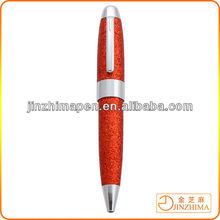 Vivid color Christmas ball pen, Perfect for promotional purposes metal ballpoint pen