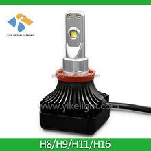 4000lm 12/24v automotive led light headlight h11 for automobile