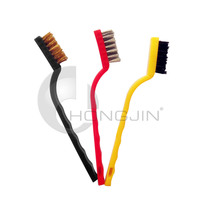 Hongjin Toothbrush Style Non-slip PP Grips Utilities Cleaning Brush