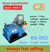 latest patented BS-002 power line recycling cable making equipment